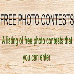 Free Photo Contests