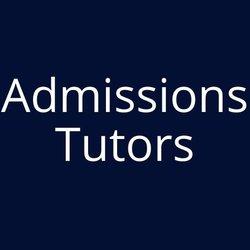Admissions Tutors